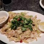 Pad Thai salteado con langostinos