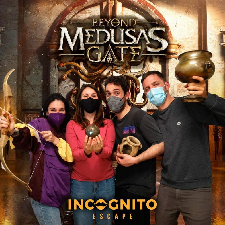 INCÓGNITO Escape, Beyond Medusa's Gate