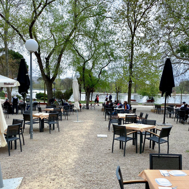 El Ancla del Lago - Un buen día en Madrid