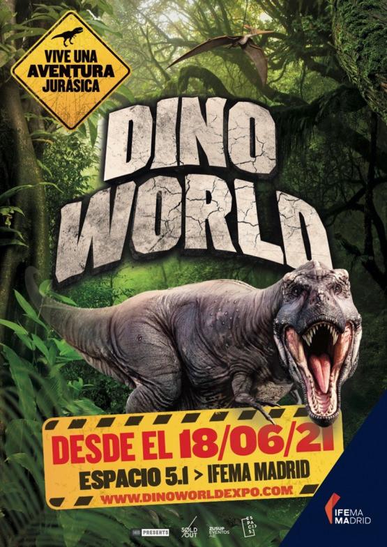 cartel dinosaurio