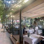 Terraza restaurante Pante en la calle Villanueva