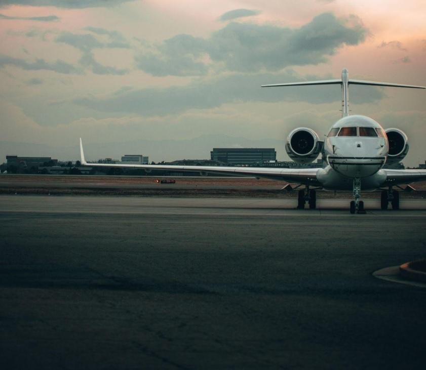 viajes en avión privado