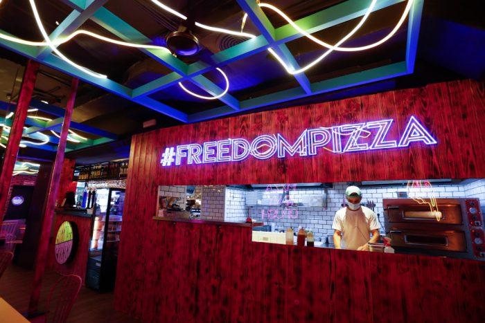 Freedom Pizza - Un buen día en Madrid