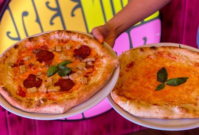 Pizzas veganas en Freedom Pizza