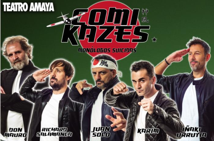 Comikazes, el show de monólogos más cañero de la temporada