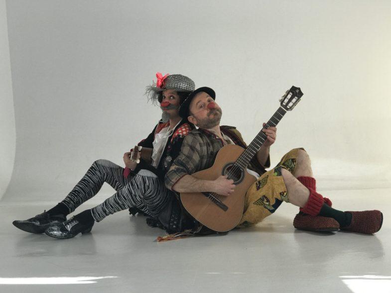 Clown Quijote: dos manchegos en apuros - Un buen día en Madrid