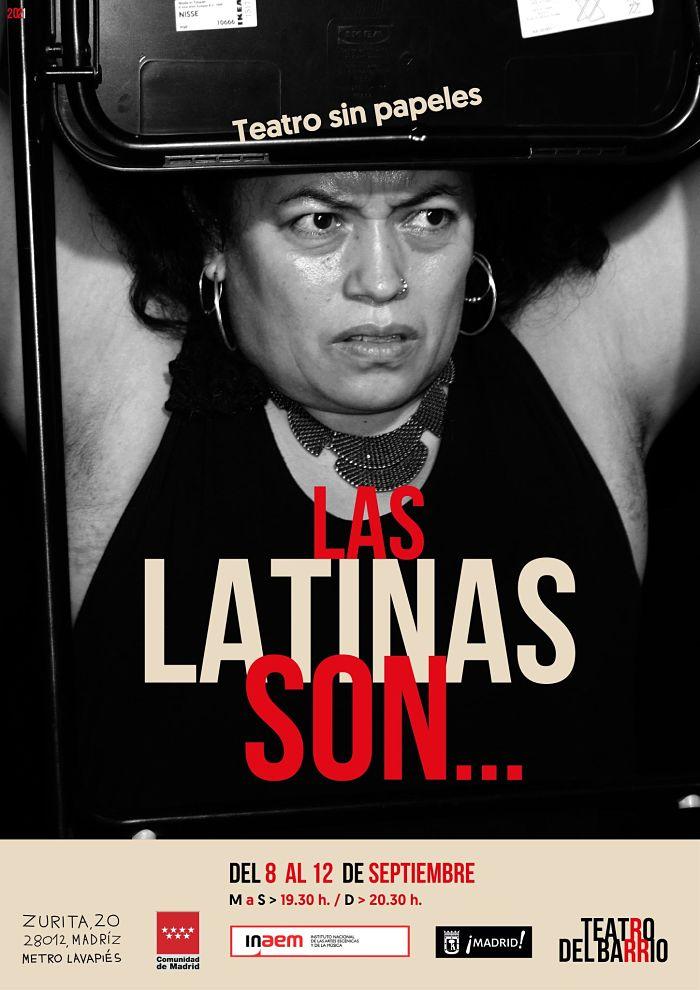 Las latinas son... en el Teatro del Barrio