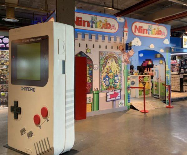 Tienda Nintendo en X-Madrid - Un buen día en Madrid