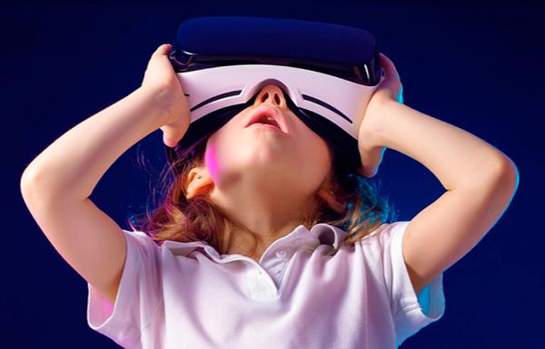 realidad virtual con niños