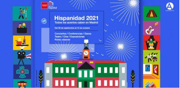 Hispanidad 2021 en Casa de América - Un buen día en Madrid