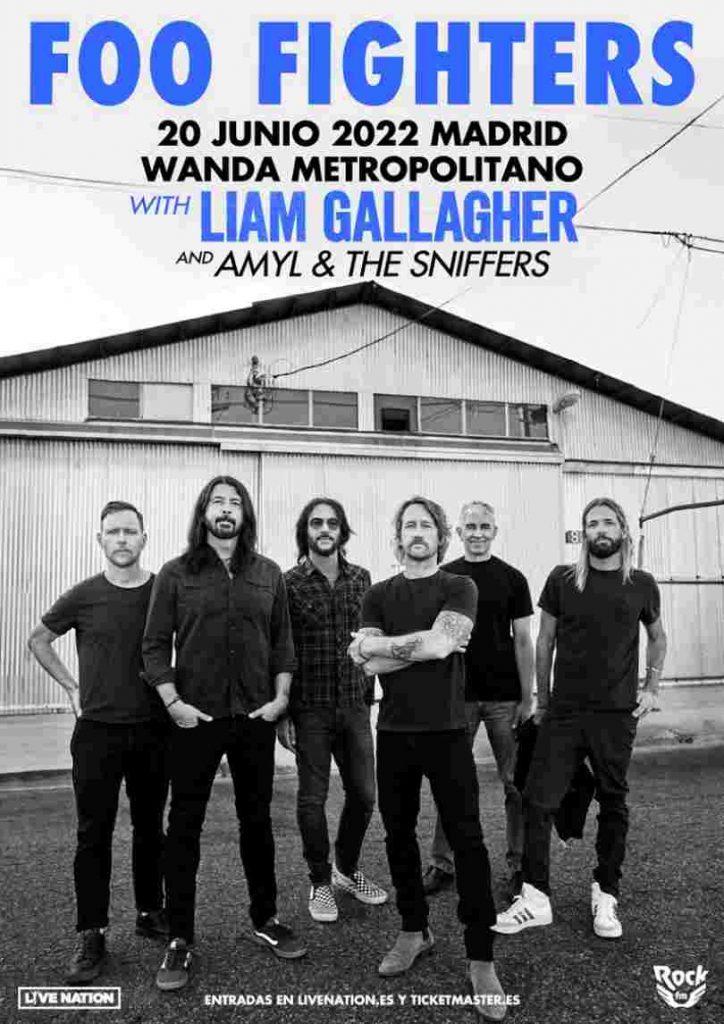 Foo Fighters harán arder Madrid