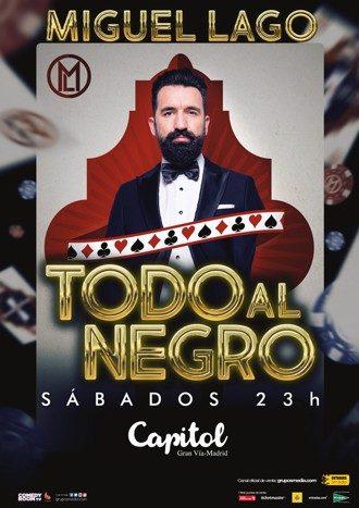 Miguel Lago en el teatro Capitol - Un buen día en Madrid