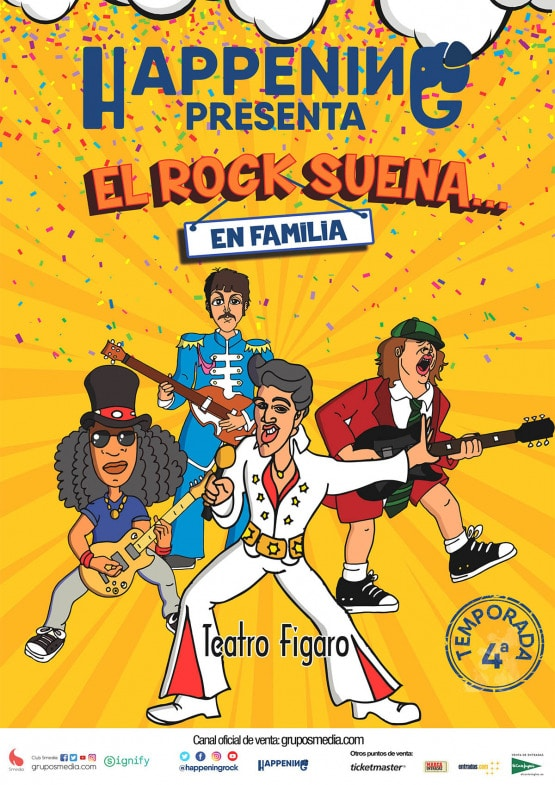 El rock suena... en familia vuelve a Madrid