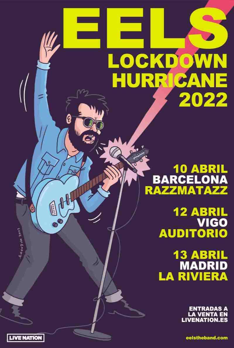 Eels regresa en concierto a Madrid